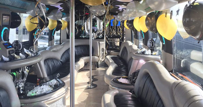 Renting a Limo Bus For a Music Video